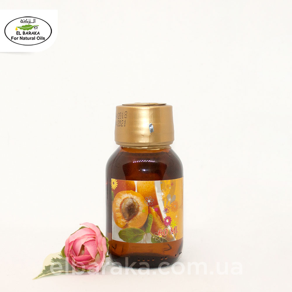 [:ru]Аромамасло абрикос, 60 мл[:ua]Ароматична олія абрикосу, 60 мл[:] • EL Baraka Україна
