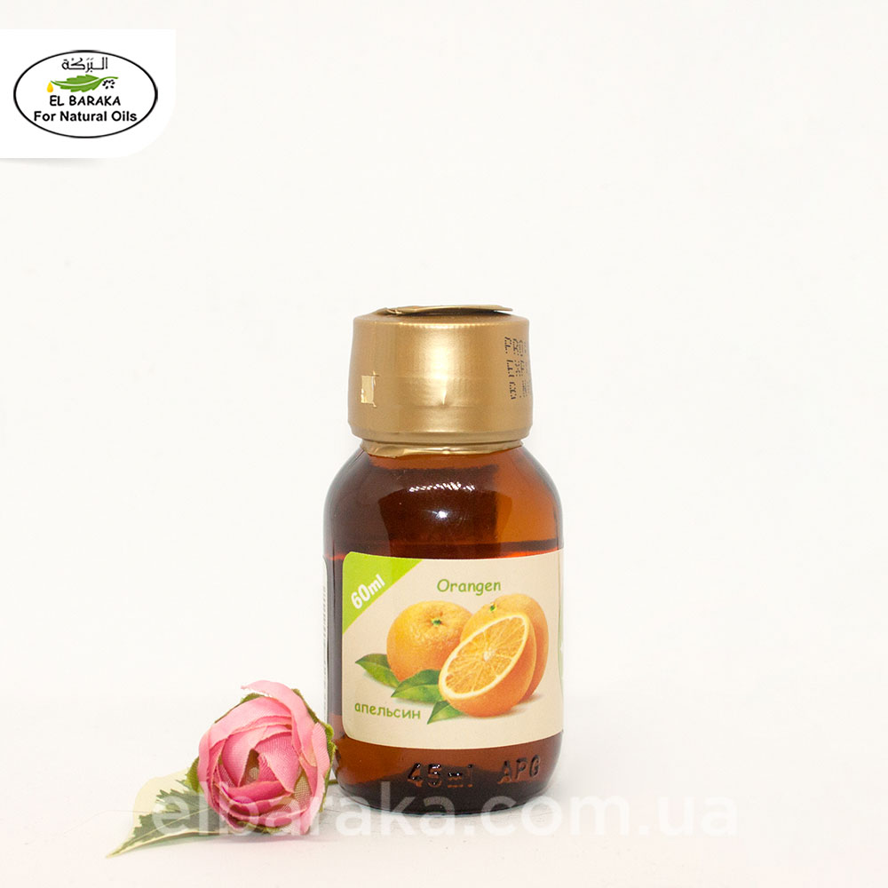 [:ru]Аромамасло апельсин, 60 мл[:ua]Ароматична олія апельсину, 60 мл[:] • EL Baraka Україна