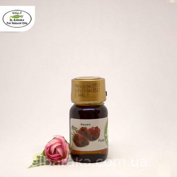 [:ru]Аромамасло розы, 30 мл[:ua]Ароматична олія троянди, 30 мл[:] • EL Baraka Україна