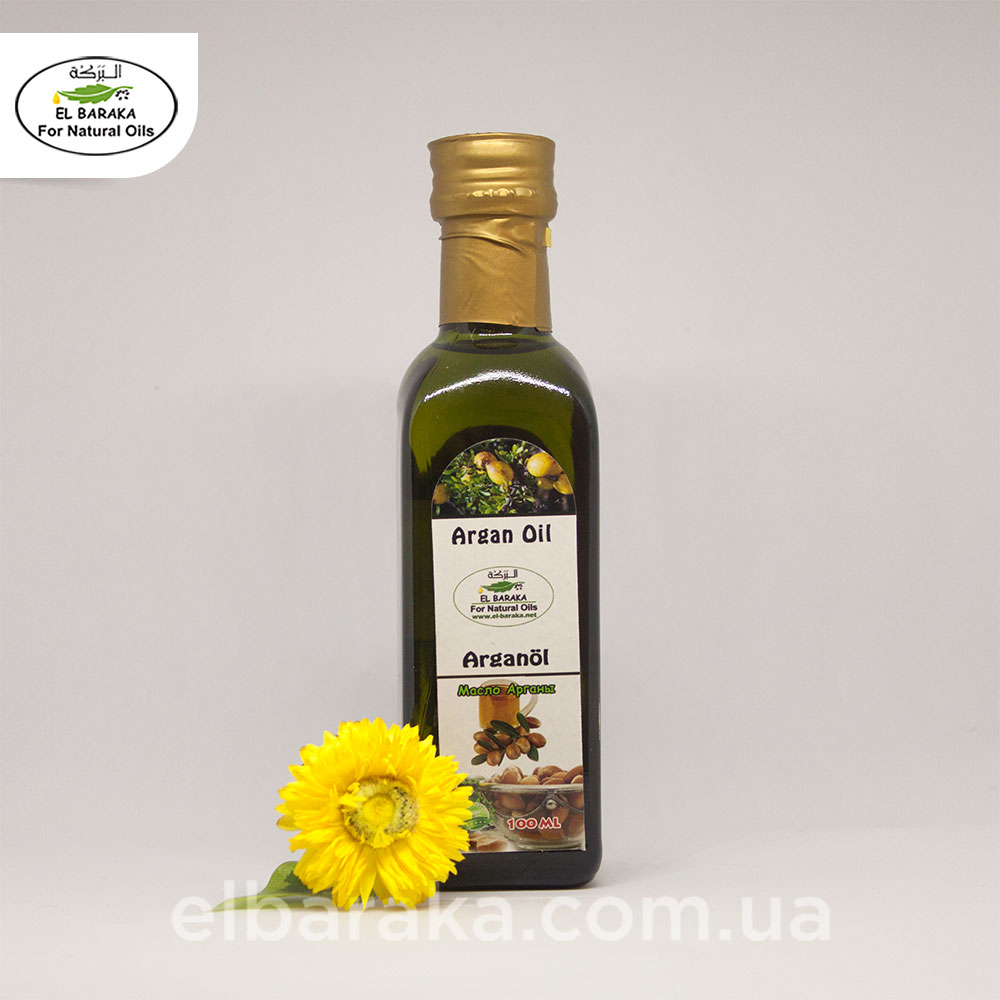 [:ru]Масло Арганы, 100 мл[:ua]Арганова олія, 100 мл[:] • EL Baraka Україна