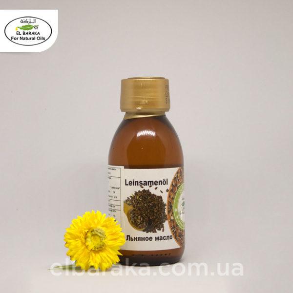[:ru]Масло Семян Льна, 135 мл[:ua]Олія насіння льону, 135 мл[:] • EL Baraka Україна