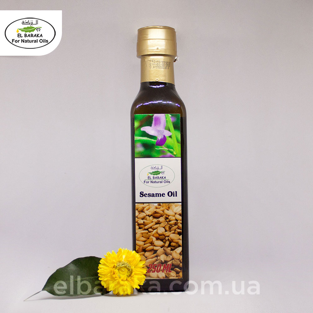 [:ru]Кунжутное Масло, 250 мл[:ua]Кунжутна олія, 250 мл[:] • EL Baraka Україна